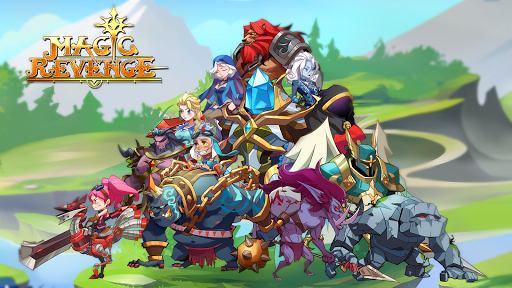 Code Triche Magic Revenge: Mighty AFK RPG APK MOD (Astuce) screenshots 1