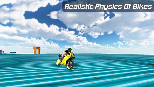 Bike Racing in sky 3D  screenshots 5