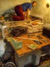 Photo: Objeveny průduchy z chlebové pece
