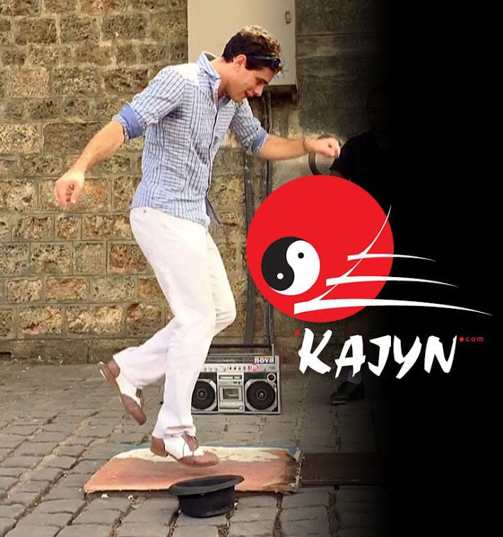 Aurélien Lehmann prof de Urban Tap claquettes au Kajyn