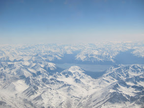 Photo: After takeoff from Anchorage