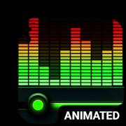 Equalizer Animated Keyboard