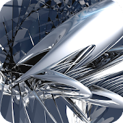 Download Chrome Metal Wallpaper APK