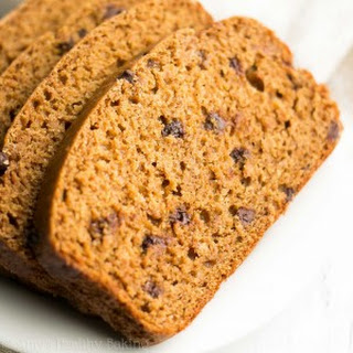 Healthy Chocolate Chip Gingerbread.