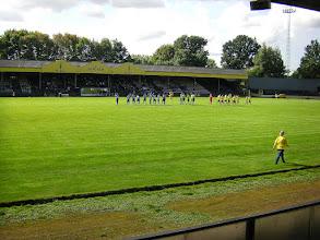 Photo: Berchem Sport - K.V.K. Tienen 2-4 (3e Klasse), Ludo Coeckstadion, toeschouwers 500