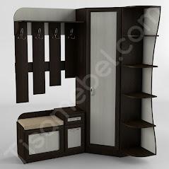 Прихожая-18 мебель разработана и произведена Фабрикой Тиса мебель