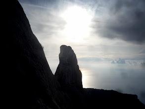 Photo: Tour de guet face à la mer.