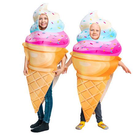 Barndräkt, glass