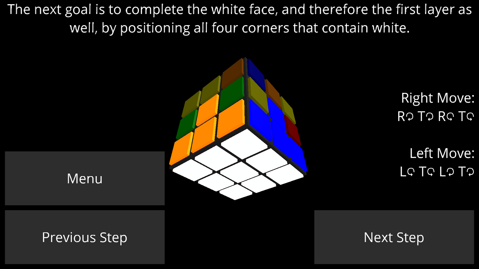 How to Solve a Rubik's Cube- screenshot