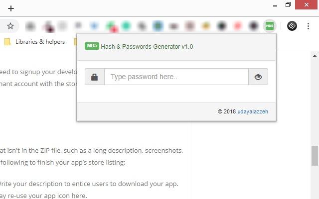 [MD5] Hash & Passwords Generator