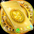 Rich Clock Live Wallpaper apk