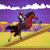 Cowboy Riding Rush Horse - Run & Jump Horse Game Android APK Download Free By ZPIDY