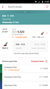Emirates airlines visa online booking