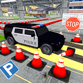 Highway Police Car Parking 3D