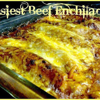 Easiest Beef Enchiladas.