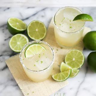 Fresh Lime Margarita.