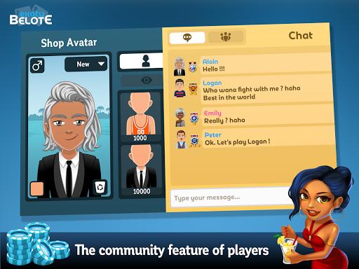 Multiplayer Belote & Coinche 6.5.0 screenshots 12