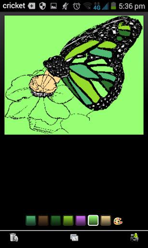玩免費遊戲APP|下載Butterfly Coloring app不用錢|硬是要APP