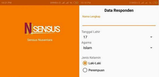 Nusantara Census Application