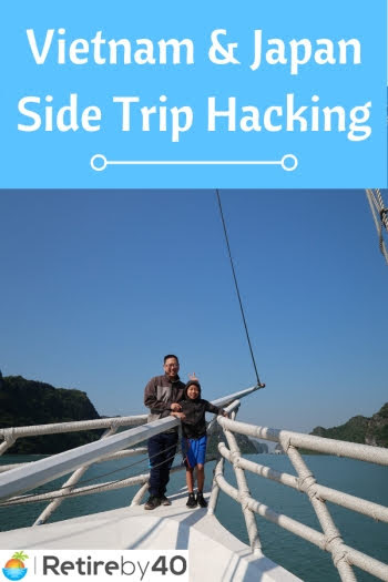 Vietnã e Japão Side Trip Hacking