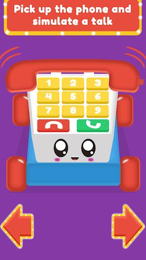 Baby Carphone Toy. Kids game  screenshots 1