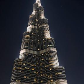 Burj Khalifa - SKyline by Abbas Mohammed - Buildings & Architecture Office Buildings & Hotels ( dubao, dubai, uae, khalia, burj, burj khalifa,  )