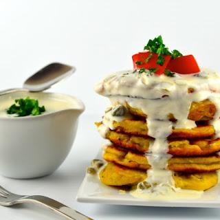 Chickpea Flour And Scallion Pancakes