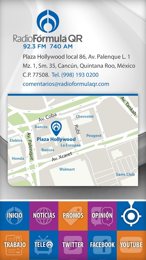 Radio Fórmula QR- screenshot