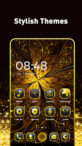 Pop Launcher - Black Emojis & Themes 1.1.10 2