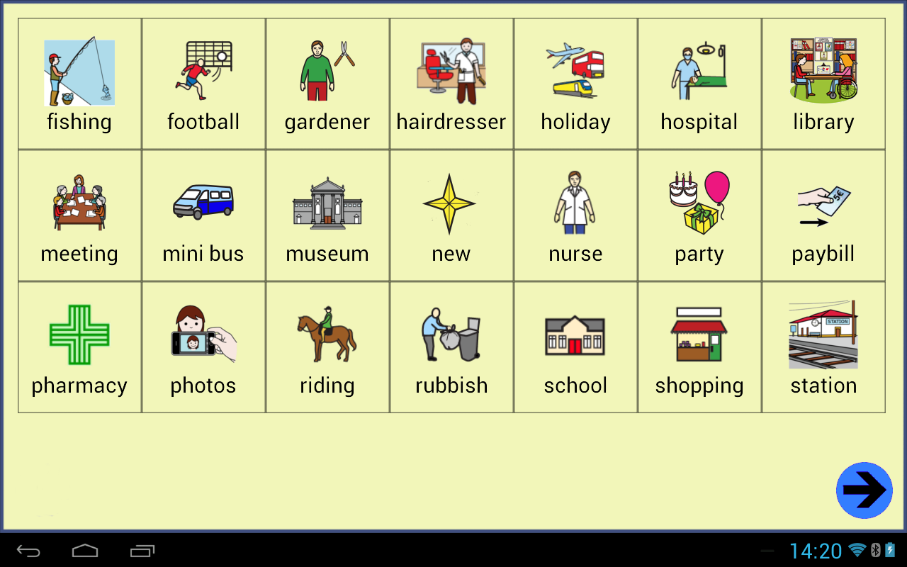 Symbols board lite for android
