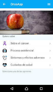OncoApp- screenshot thumbnail