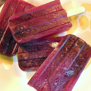 Blackberry Merlot Popsicles Recipe