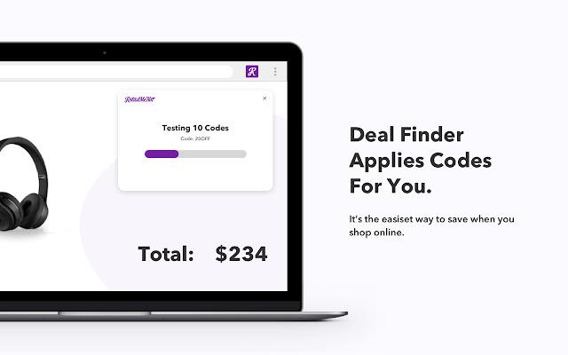 Retailmenot Deal Finder