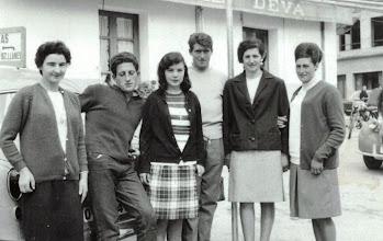 Photo: Lines (Abanillas), Susi, Cuqui (Abanillas), Lin, Curra y Chiqui.