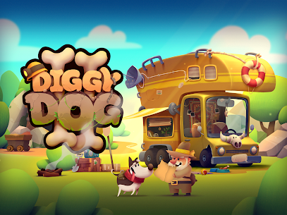 My Diggy Dog 2 Mod Apk 1.2.5 (Unlimited Diamond+ Money) 8
