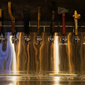 Beer Light by VAM Photography - Food & Drink Alcohol & Drinks ( beer, drink, reflections, places, travel, light,  )