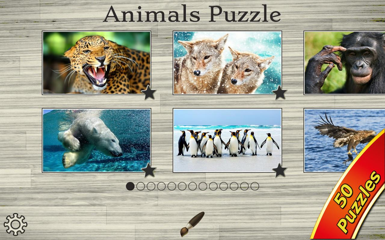 Amazing Animals Jigsaw Puzzles- screenshot