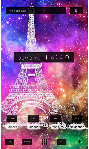 Cool Theme-Space Eiffel-