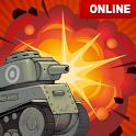 Crash of Tanks - Online battle tank war icon