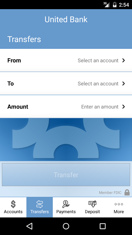 United Bank Mobile Banking- screenshot