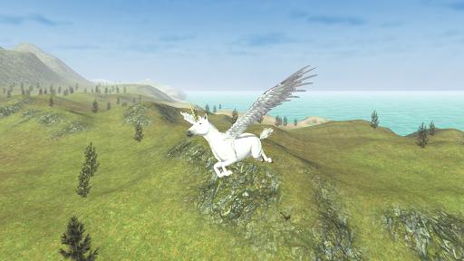 Flying Unicorn Simulator Free screenshot 11