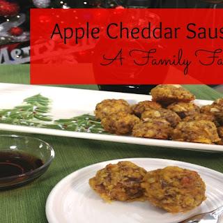 Apple Cheddar Sausage Balls