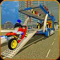 Bike Transport Cargo Truck icon