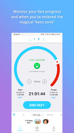 LIFE Fasting Tracker 2.0.6 screenshots 2