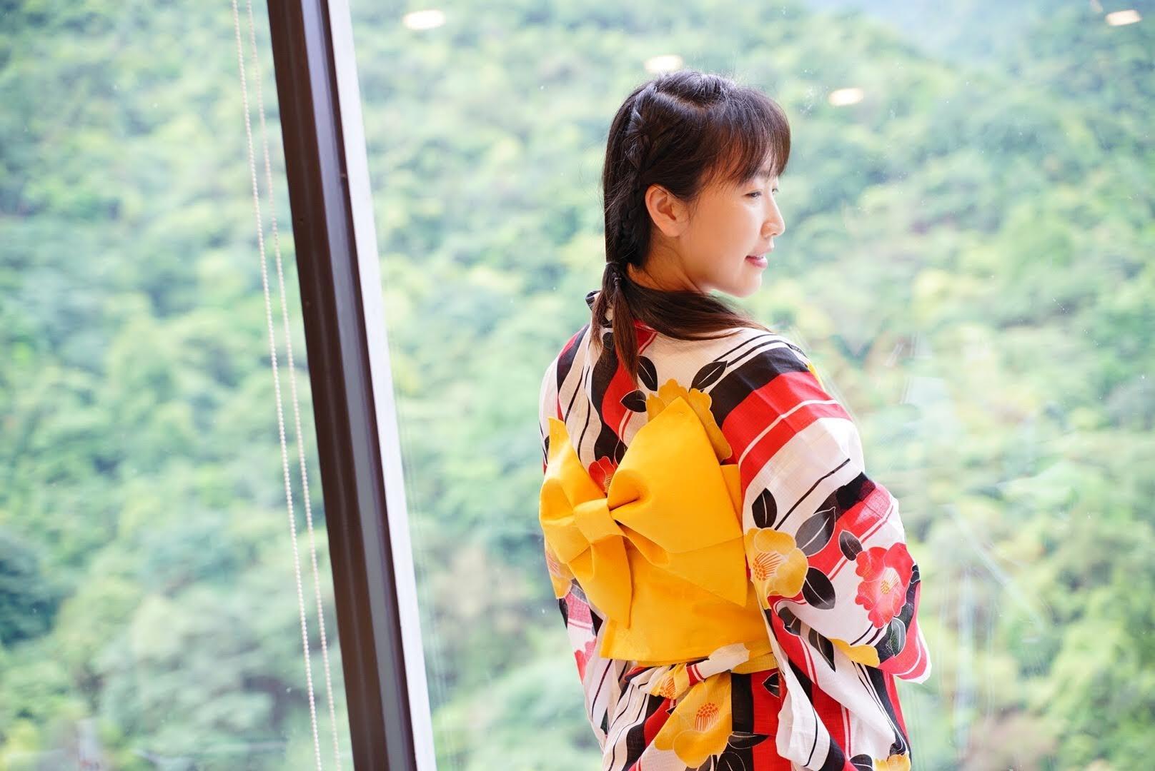 日式浴衣照-金山溫泉會館推薦