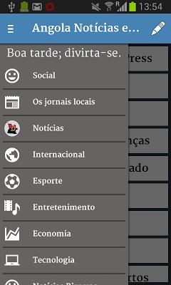 Angola Notícias e Mais - screenshot