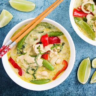 Thai Green Curry Chicken (20-minute).