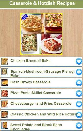 Casserole And Hotdish Recipes 2.0 screenshots 1