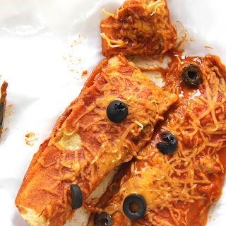 Skinny Sweet Potato Enchiladas