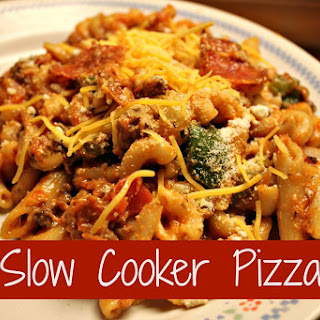 Slow Cooker Pizza.